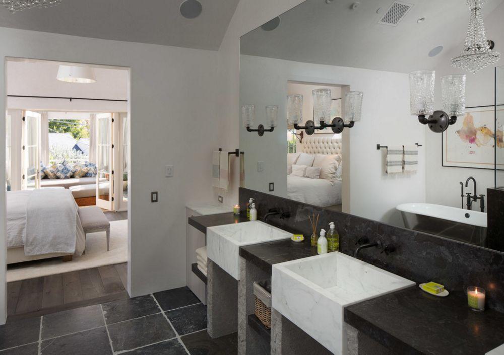 adelaparvu.com despre casa cu interior rustic combinat cu actual, Los Angeles, Foto Michael Kelley (7)