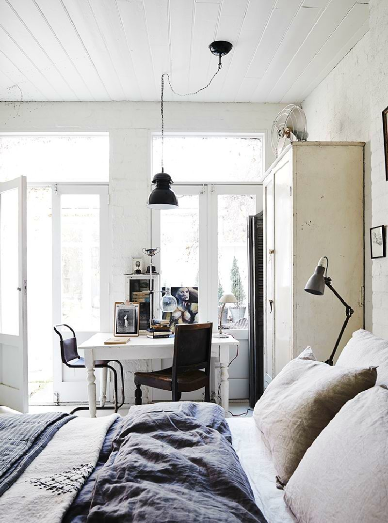 adelaparvu.com despre casa in fosta fabrica, The White Room Australia, designer Lynda Gardener Foto Est Magazine, Lisa Cohen (3)