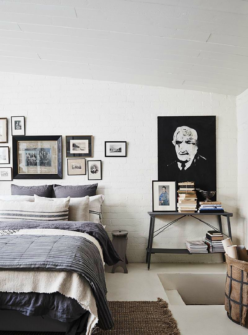 adelaparvu.com despre casa in fosta fabrica, The White Room Australia, designer Lynda Gardener Foto Est Magazine, Lisa Cohen (6)