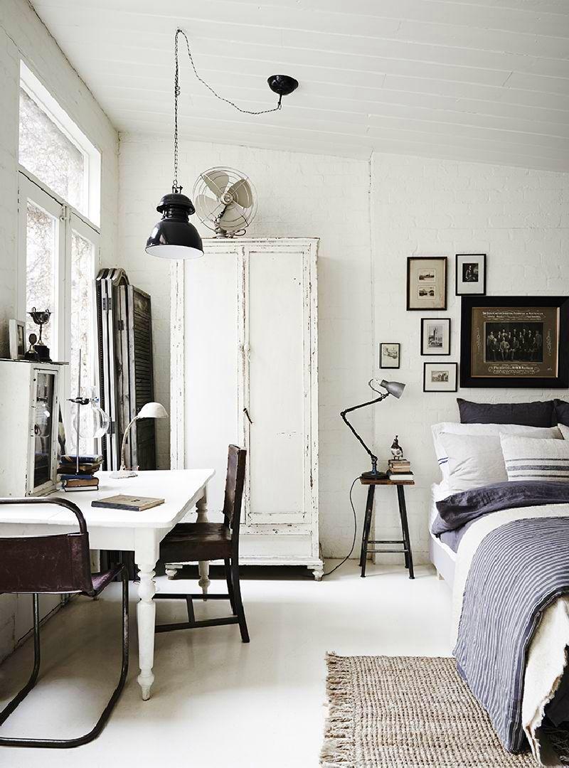 adelaparvu.com despre casa in fosta fabrica, The White Room Australia, designer Lynda Gardener Foto Est Magazine, Lisa Cohen (7)