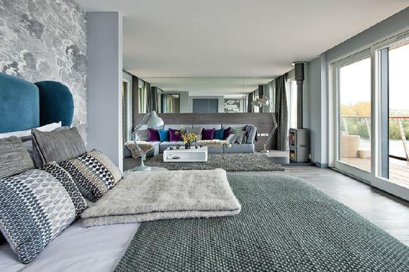 adelaparvu.com despre casa moderna pe malul lacului, casa Anglia, Gloucestershire, Foto Weranda, Polly Eltes, Narratives (17)