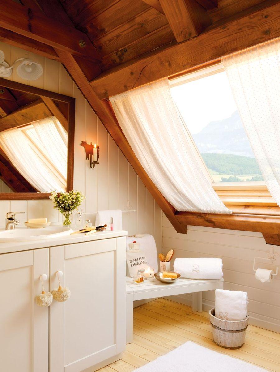 adelaparvu.com despre casa montana decorata in alb, casa Spania, designer Mercedes Alvarez de Toledo, Foto ElMueble (1)