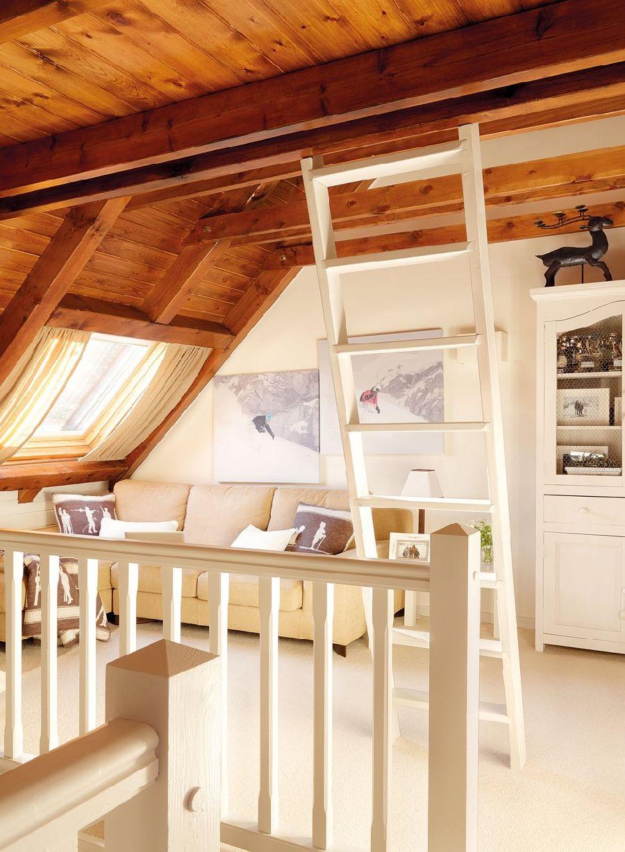 adelaparvu.com despre casa montana decorata in alb, casa Spania, designer Mercedes Alvarez de Toledo, Foto ElMueble (11)