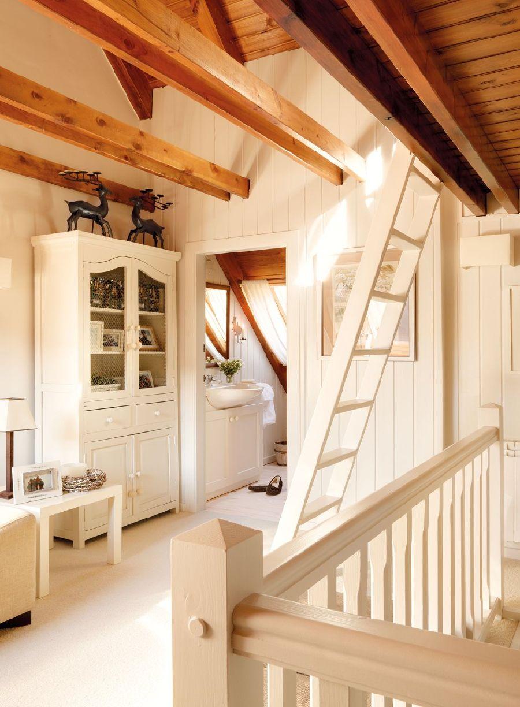 adelaparvu.com despre casa montana decorata in alb, casa Spania, designer Mercedes Alvarez de Toledo, Foto ElMueble (12)