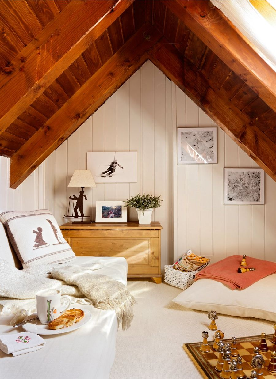 adelaparvu.com despre casa montana decorata in alb, casa Spania, designer Mercedes Alvarez de Toledo, Foto ElMueble (13)