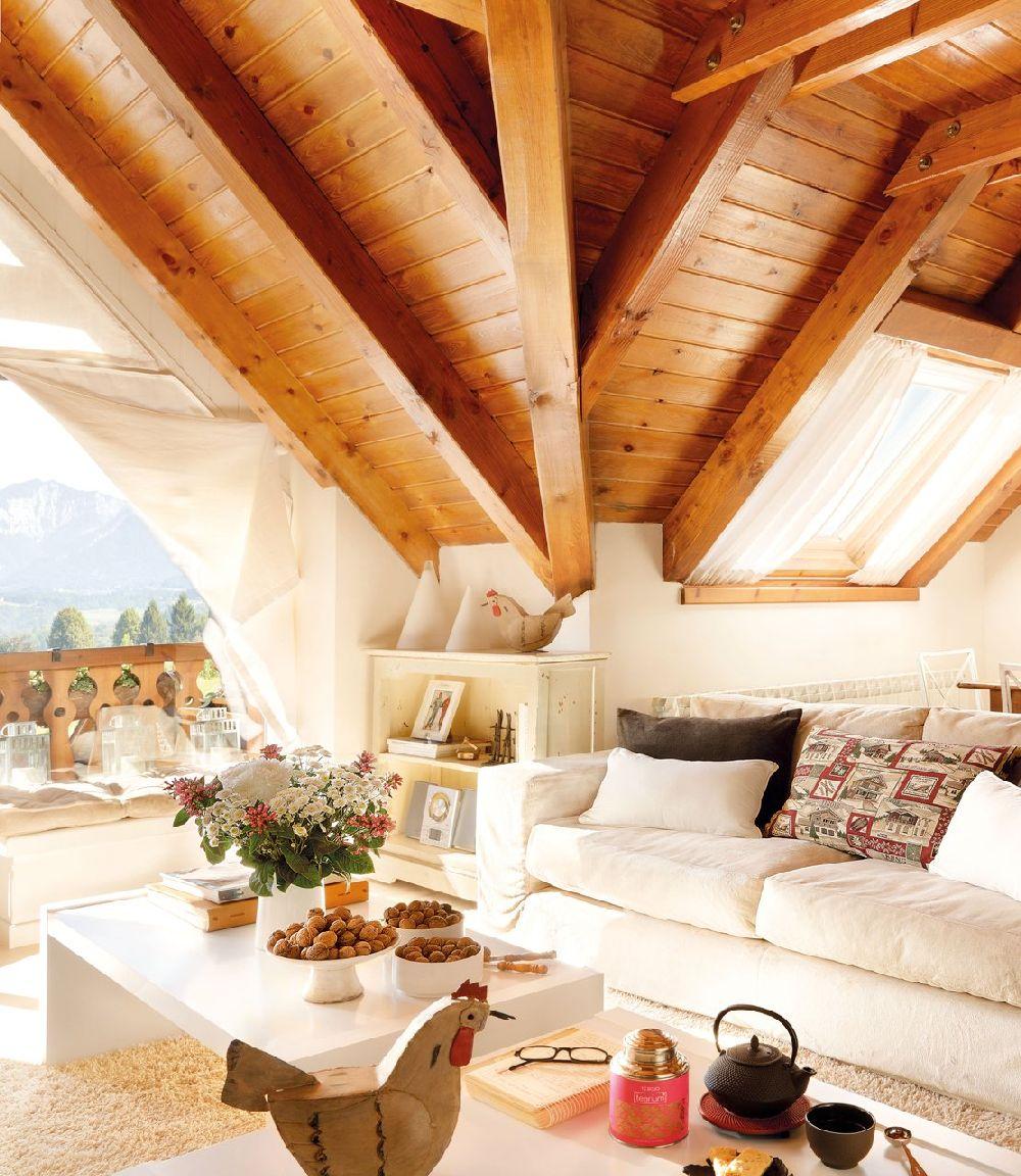 adelaparvu.com despre casa montana decorata in alb, casa Spania, designer Mercedes Alvarez de Toledo, Foto ElMueble (14)