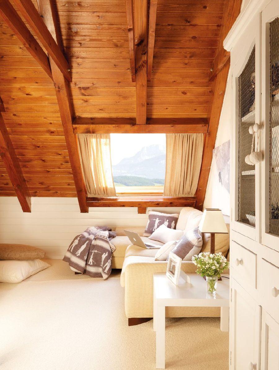 adelaparvu.com despre casa montana decorata in alb, casa Spania, designer Mercedes Alvarez de Toledo, Foto ElMueble (17)
