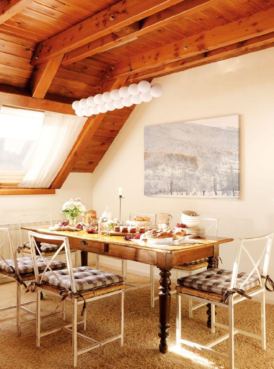 adelaparvu.com despre casa montana decorata in alb, casa Spania, designer Mercedes Alvarez de Toledo, Foto ElMueble (2)