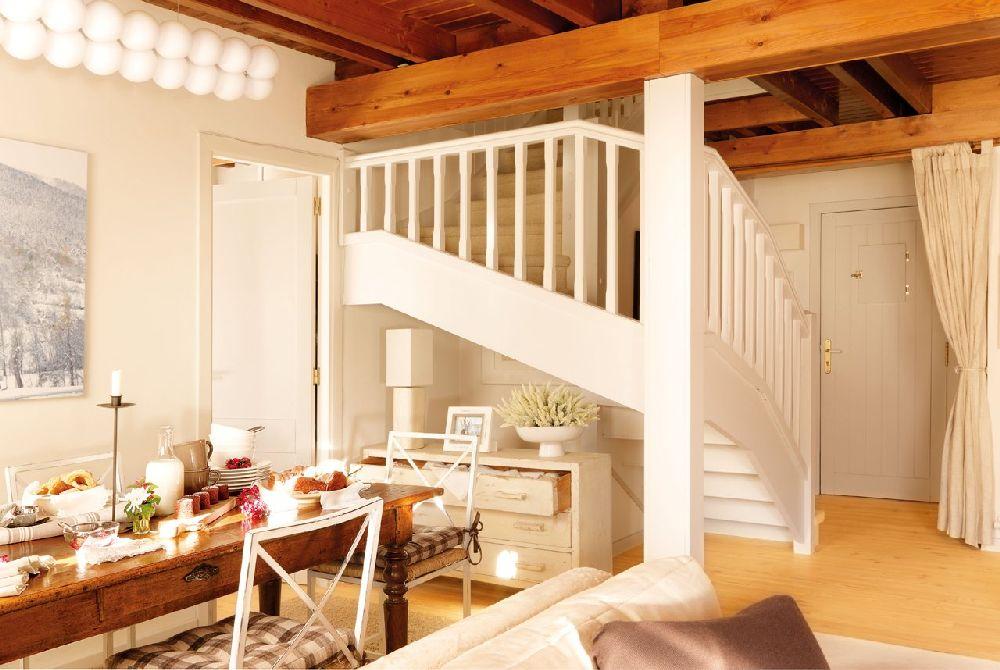 adelaparvu.com despre casa montana decorata in alb, casa Spania, designer Mercedes Alvarez de Toledo, Foto ElMueble (4)