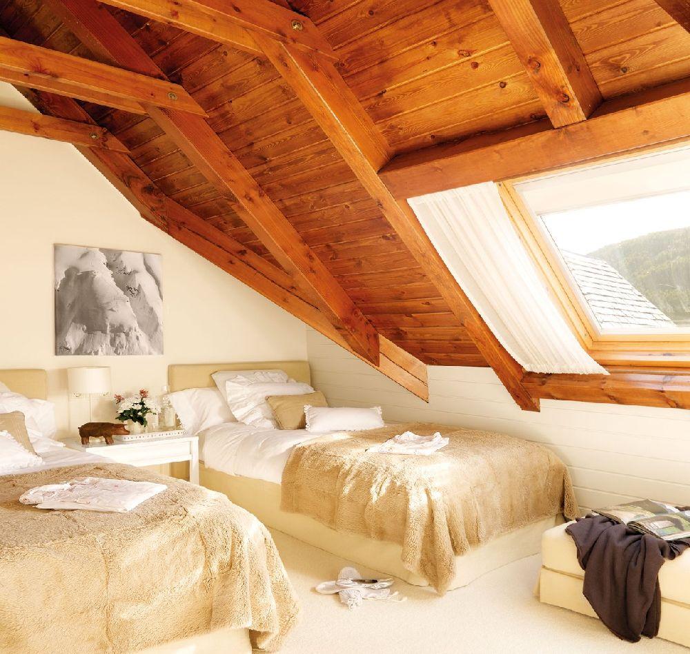 adelaparvu.com despre casa montana decorata in alb, casa Spania, designer Mercedes Alvarez de Toledo, Foto ElMueble (8)