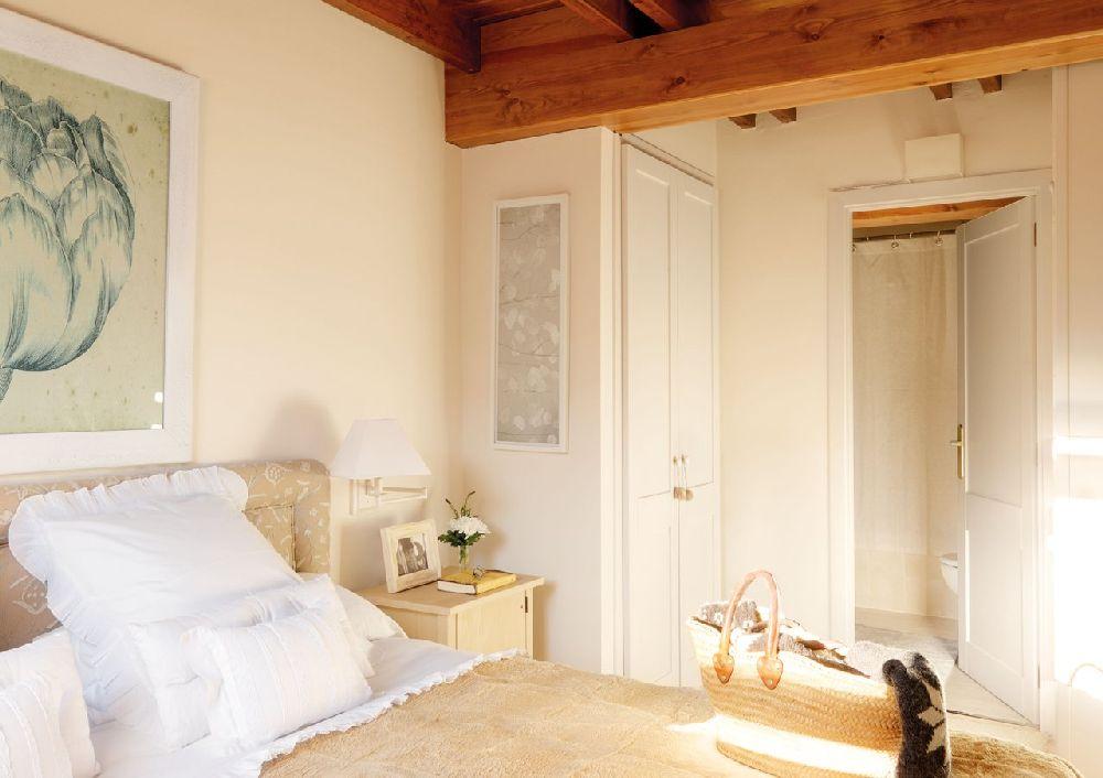 adelaparvu.com despre casa montana decorata in alb, casa Spania, designer Mercedes Alvarez de Toledo, Foto ElMueble (9)