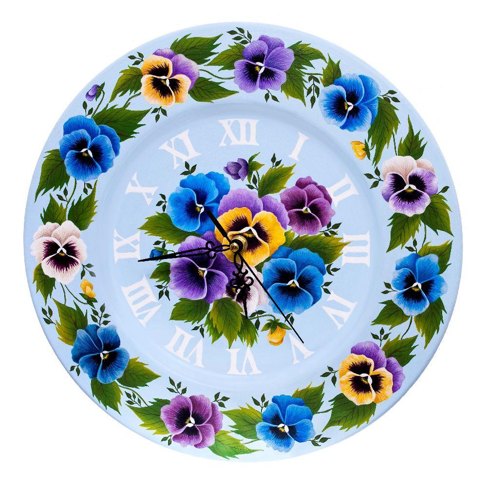 adelaparvu.com despre ceasuri pictate manual, artist Cosmina Lucaciu, Pictura Decorativa Onesti, Foto Fotoclipa (10)