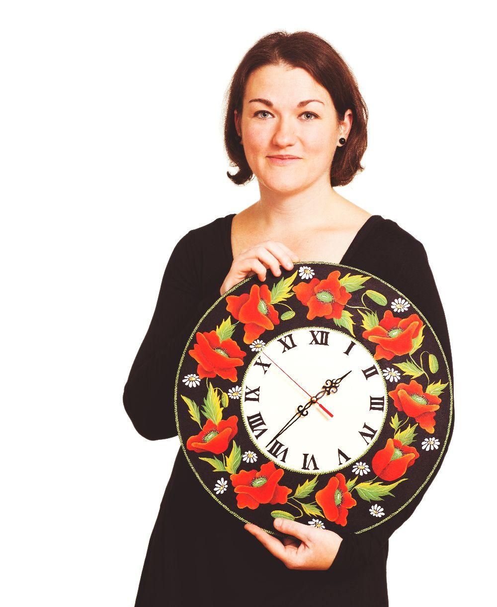 adelaparvu.com despre ceasuri pictate manual, artist Cosmina Lucaciu, Pictura Decorativa Onesti, Foto Fotoclipa (15)