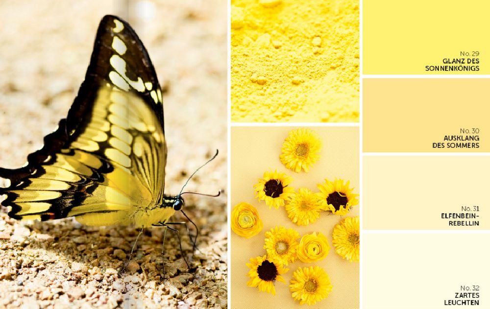 adelaparvu.com despre culorile anului 2016, paleta GALBEN, Color Trends 2016 Alpina (5)