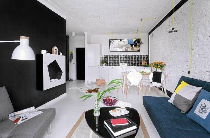 adelaparvu.com despre doua camere in 34 mp, design interior Warsztat Wnetrza (3)
