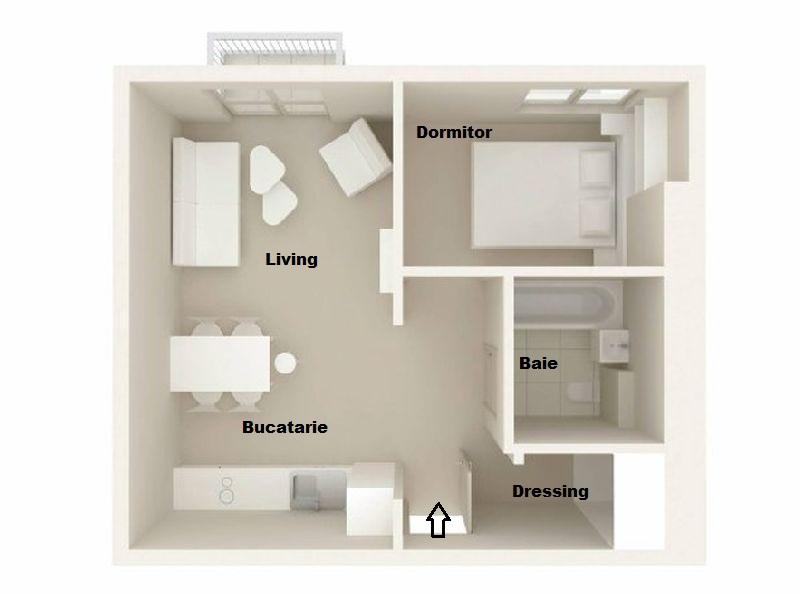adelaparvu.com despre doua camere in 34 mp, design interior Warsztat Wnetrza (4)