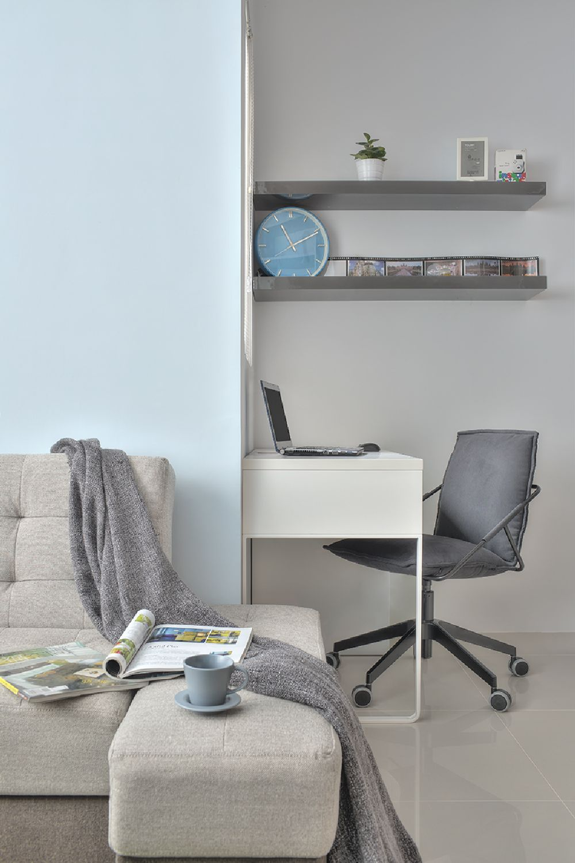 adelaparvu.com despre garsoniera 32 mp cu pat si loc de canapea, design interior CloudPen, Foto CloudPen (3)