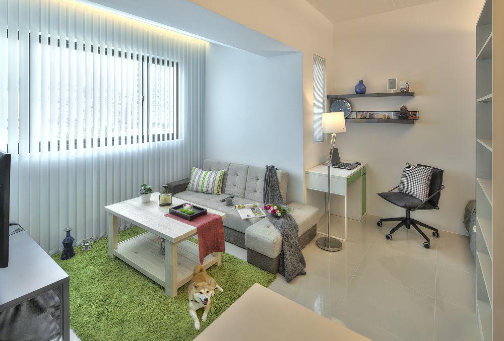 adelaparvu.com despre garsoniera 32 mp cu pat si loc de canapea, design interior CloudPen, Foto CloudPen (9)