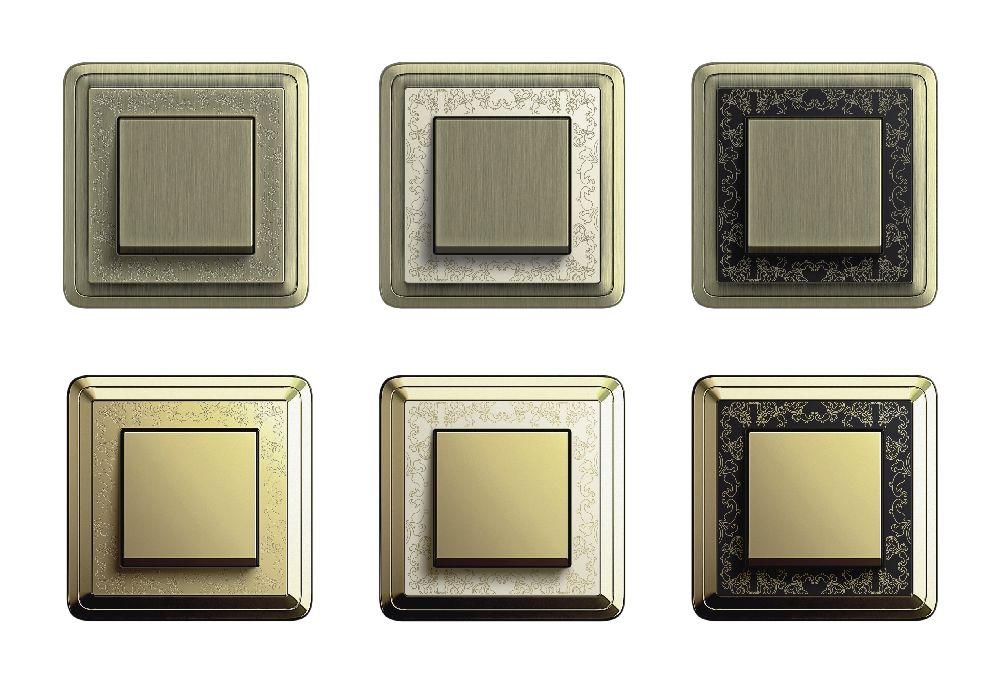 adelaparvu.com despre intrerupatoare si prize pentru case clasice, Gira colectia ClassiX Art (11)