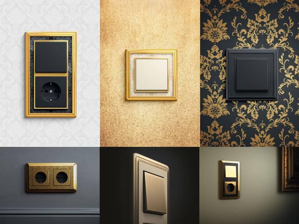 adelaparvu.com despre intrerupatoare si prize pentru case clasice, Gira colectia ClassiX Art (2)