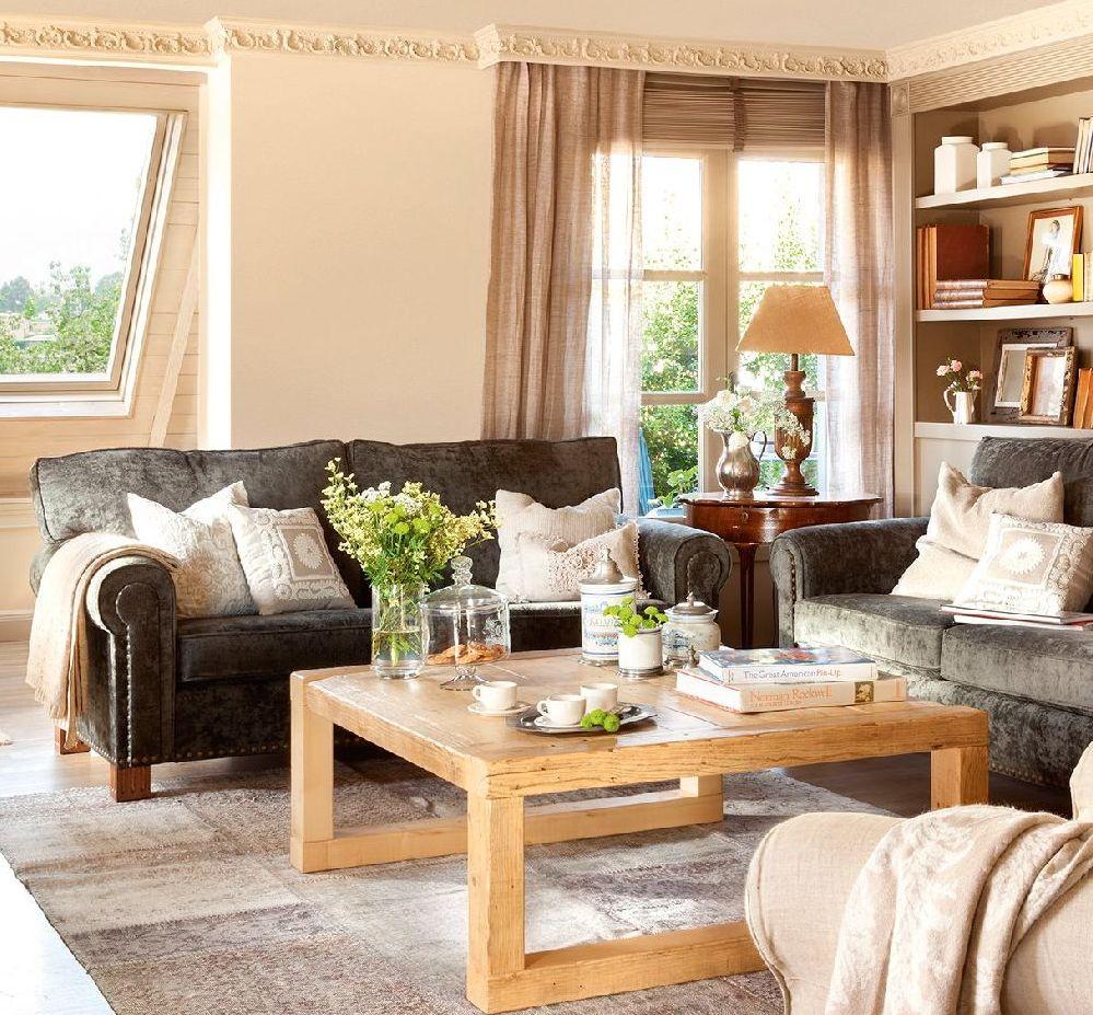 adelaparvu.com despre locuinta parter si mansarda in stil combinat clasic si rustic, designer Jeanette Tresing, Foto ElMueble (116)