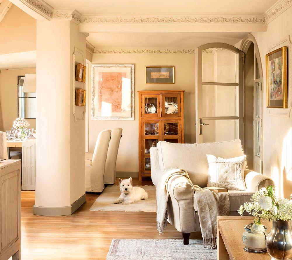 adelaparvu.com despre locuinta parter si mansarda in stil combinat clasic si rustic, designer Jeanette Tresing, Foto ElMueble (15)