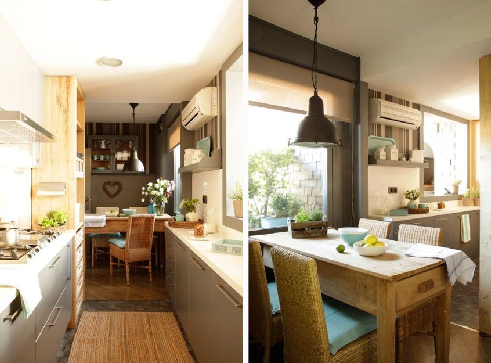 adelaparvu.com despre locuinta parter si mansarda in stil combinat clasic si rustic, designer Jeanette Tresing, Foto ElMueble (17)
