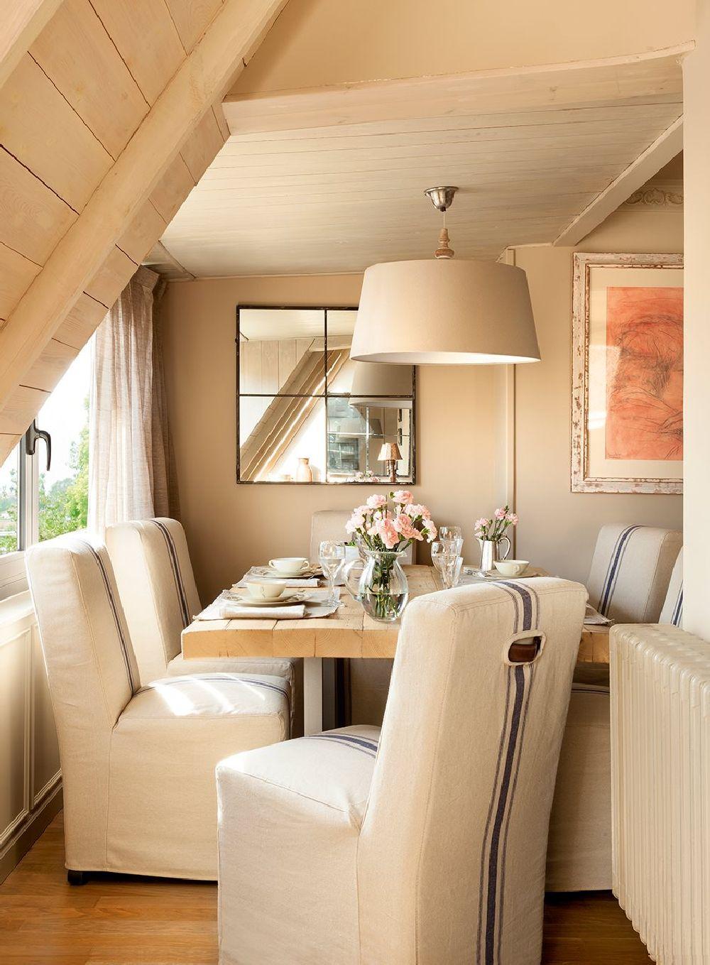 adelaparvu.com despre locuinta parter si mansarda in stil combinat clasic si rustic, designer Jeanette Tresing, Foto ElMueble (4)