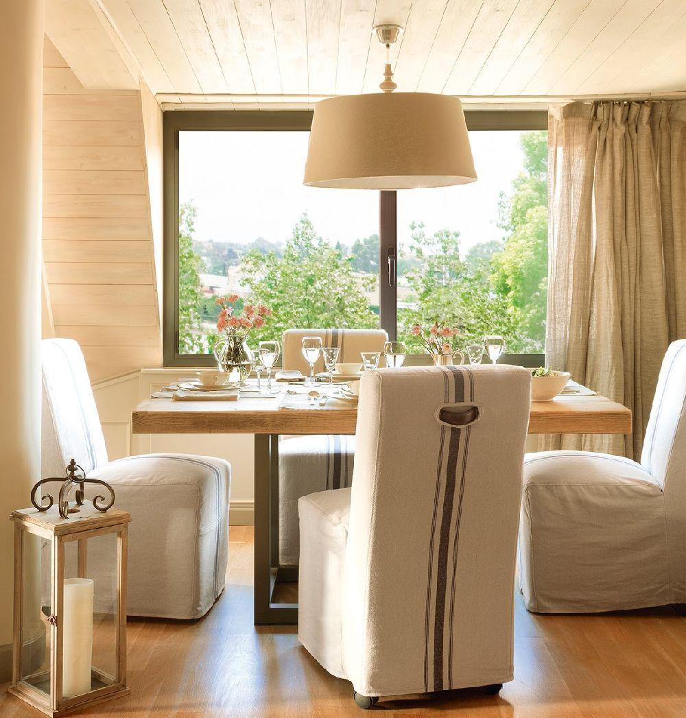 adelaparvu.com despre locuinta parter si mansarda in stil combinat clasic si rustic, designer Jeanette Tresing, Foto ElMueble (5)