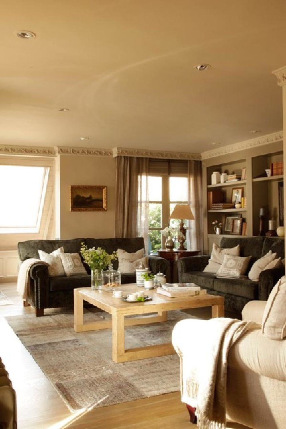 adelaparvu.com despre locuinta parter si mansarda in stil combinat clasic si rustic, designer Jeanette Tresing, Foto Jeanette Tresing (9)