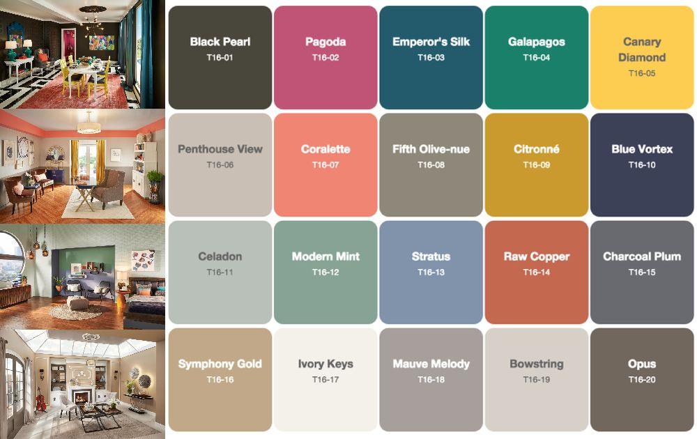 adelaparvu.com despre paleta cromatica, Colors Trends 2016, Behr