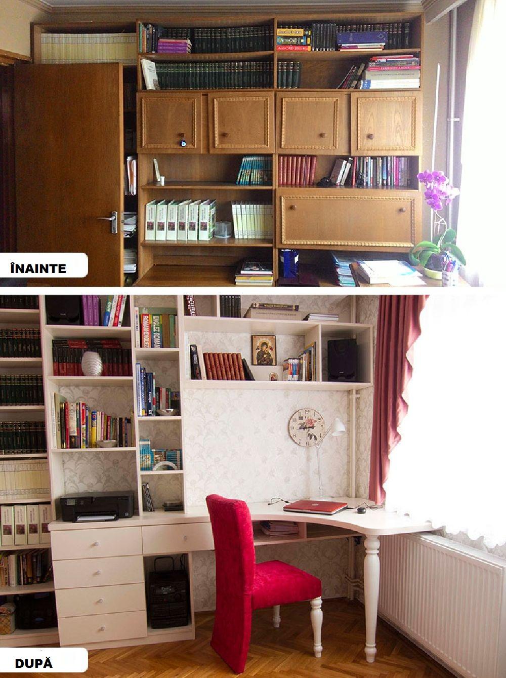 adelaparvu.com despre reamenajare apartament 3 camere Bucuresti, designer Adriana Croveanu (26)