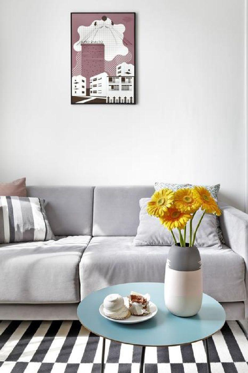 adelaparvu.com despre amenajare apartament 2 camere, 38 mp, designer Katarzyna Dziurdzia (11)