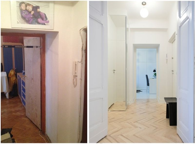 adelaparvu.com despre amenajare apartament 2 camere, 38 mp, designer Katarzyna Dziurdzia (15)