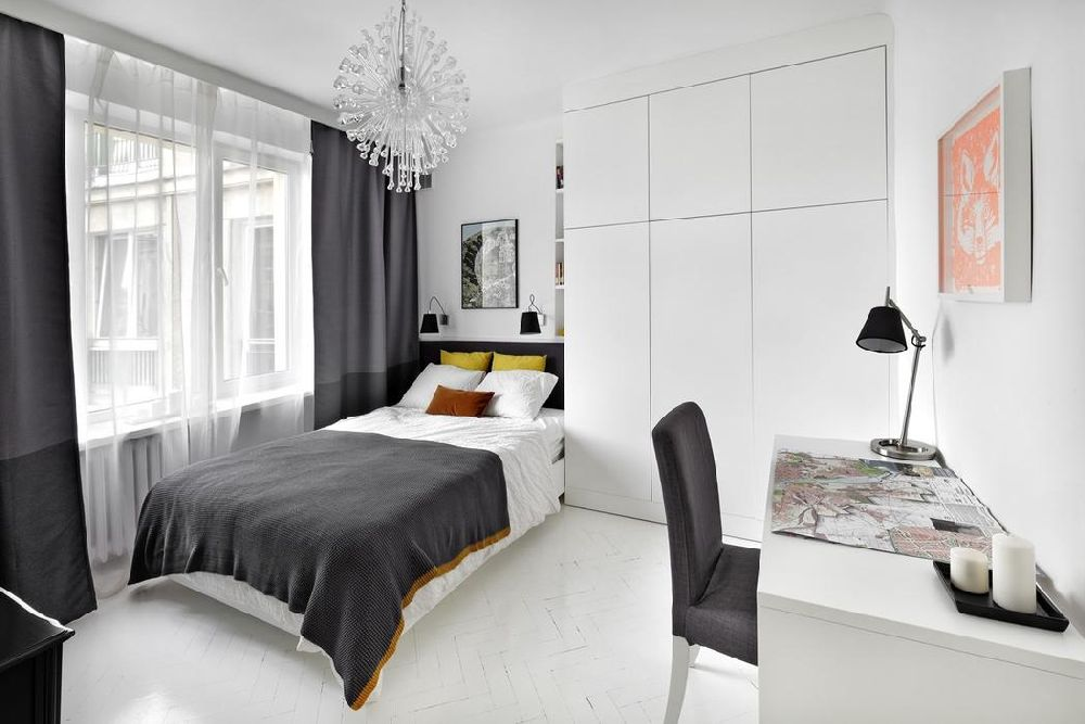 adelaparvu.com despre amenajare apartament 2 camere, 38 mp, designer Katarzyna Dziurdzia (20)