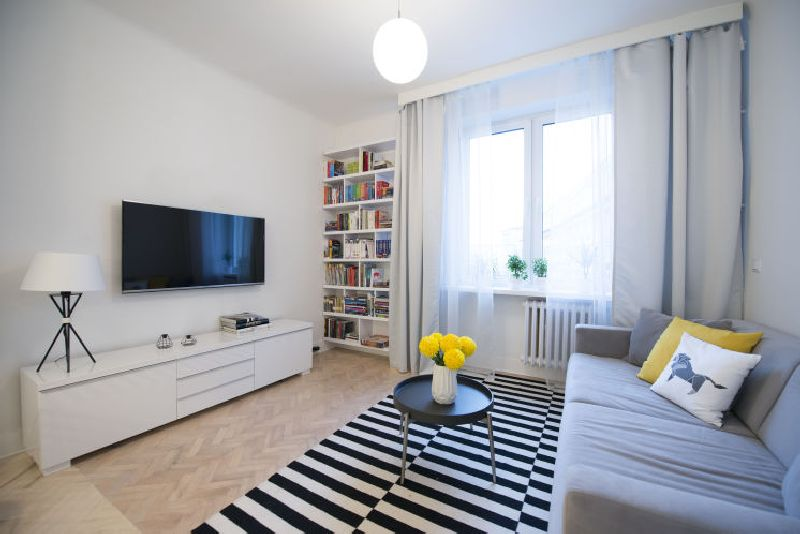 adelaparvu.com despre amenajare apartament 2 camere, 38 mp, designer Katarzyna Dziurdzia (7)