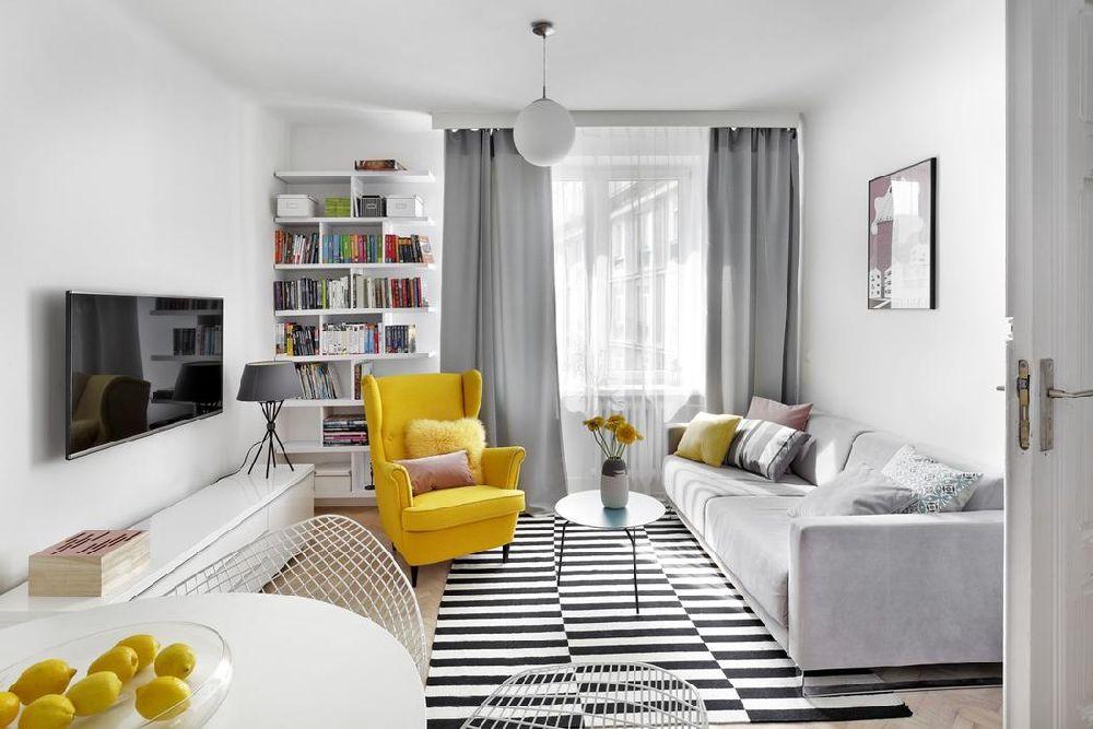 adelaparvu.com despre amenajare apartament 2 camere, 38 mp, designer Katarzyna Dziurdzia (8)
