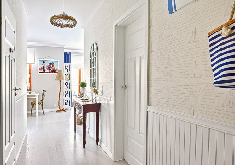 adelaparvu.com despre apartament 2 camere, 48 mp, decor marin, design interior Dream Home, Foto Drako Studio (10)