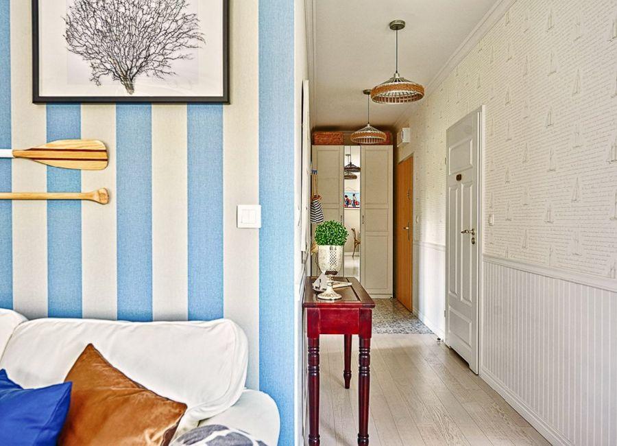 adelaparvu.com despre apartament 2 camere, 48 mp, decor marin, design interior Dream Home, Foto Drako Studio (13)