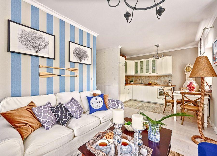 adelaparvu.com despre apartament 2 camere, 48 mp, decor marin, design interior Dream Home, Foto Drako Studio (15)