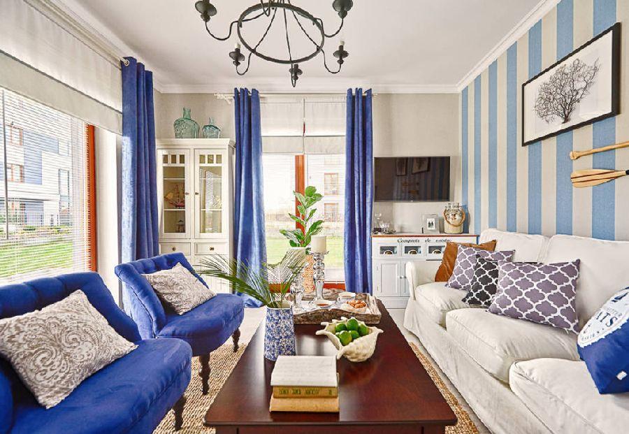 adelaparvu.com despre apartament 2 camere, 48 mp, decor marin, design interior Dream Home, Foto Drako Studio (2)