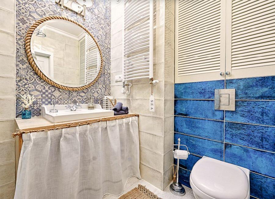 adelaparvu.com despre apartament 2 camere, 48 mp, decor marin, design interior Dream Home, Foto Drako Studio (24)