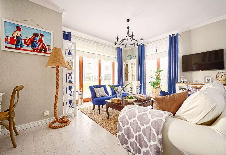 adelaparvu.com despre apartament 2 camere, 48 mp, decor marin, design interior Dream Home, Foto Drako Studio (27)