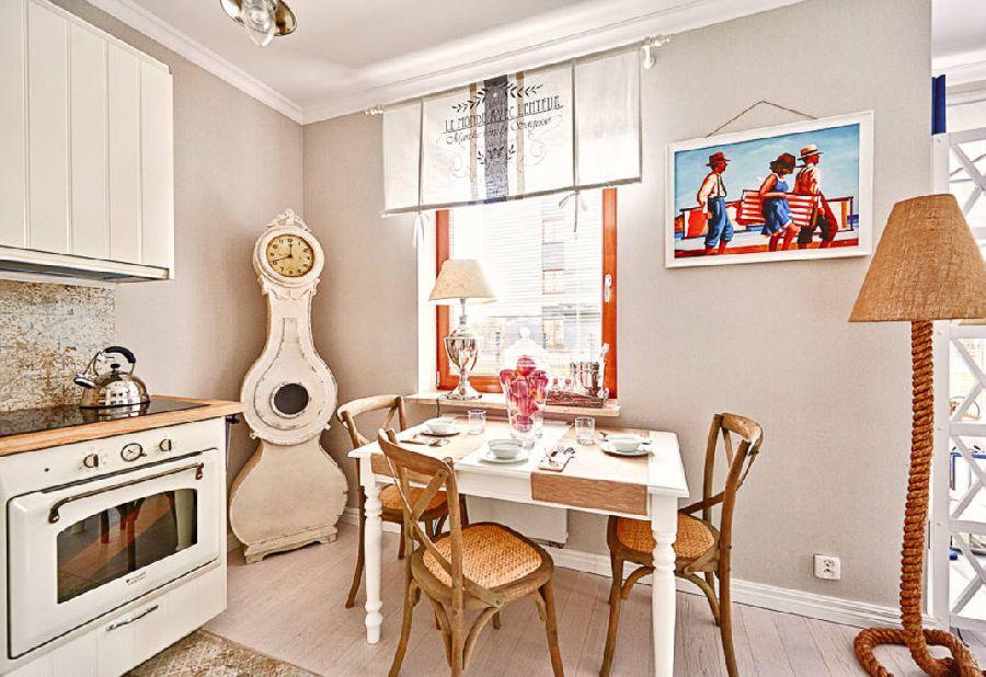 adelaparvu.com despre apartament 2 camere, 48 mp, decor marin, design interior Dream Home, Foto Drako Studio (3)