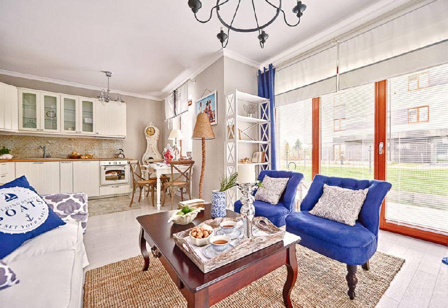 adelaparvu.com despre apartament 2 camere, 48 mp, decor marin, design interior Dream Home, Foto Drako Studio (4)