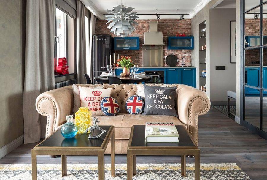 adelaparvu.com despre apartament 2 camere, 65 mp, cu loc de dressing, designer de interior Zhenya Zhdanova (1)