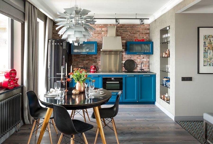 adelaparvu.com despre apartament 2 camere, 65 mp, cu loc de dressing, designer de interior Zhenya Zhdanova (2)