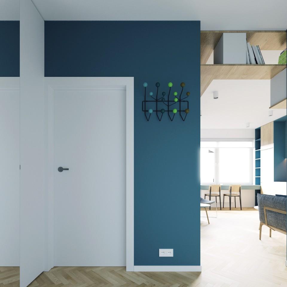 adelaparvu.com despre apartament 2 camre, 40 mp, design Studio 081 Architekci, Foto 081 Architekci (14)
