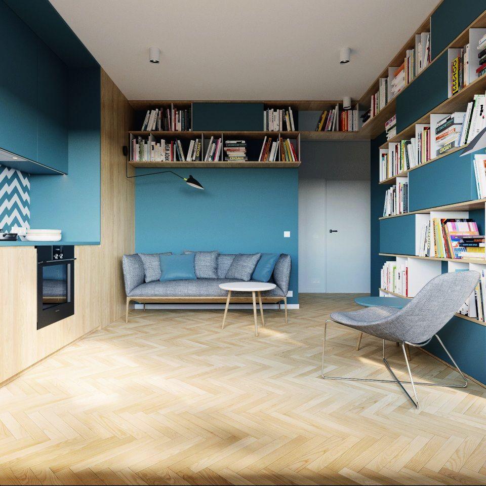 adelaparvu.com despre apartament 2 camre, 40 mp, design Studio 081 Architekci, Foto 081 Architekci (9)