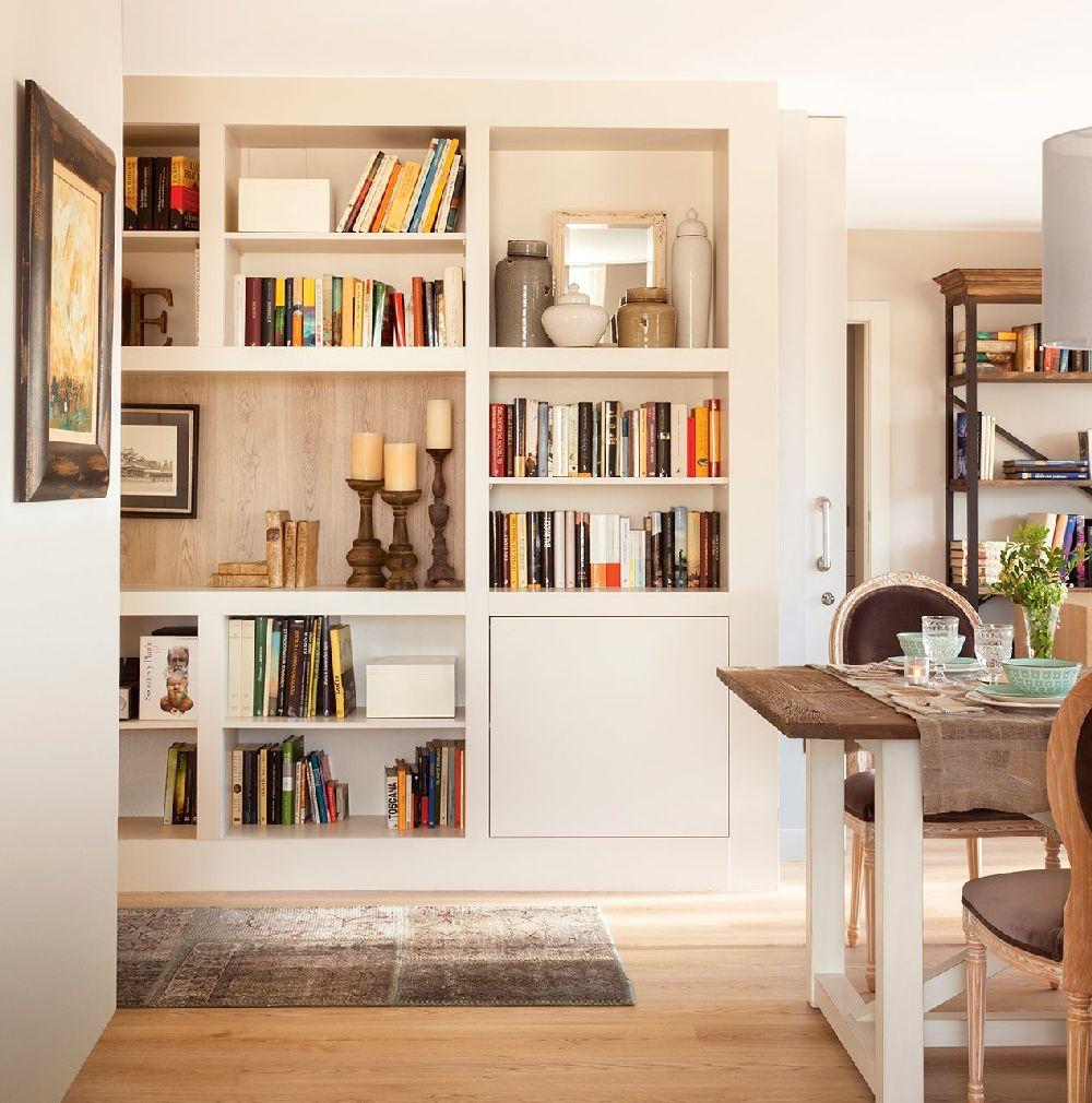 adelaparvu.com despre apartament cu camere separate de usi glisante, designer Pia Capdevila, Foto ElMueble (11)